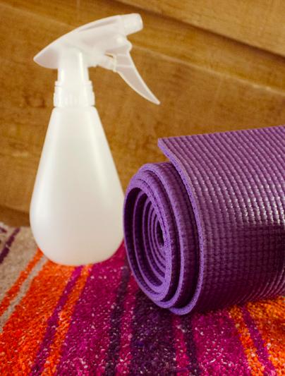 Yoga Un Tapis Propre Propre