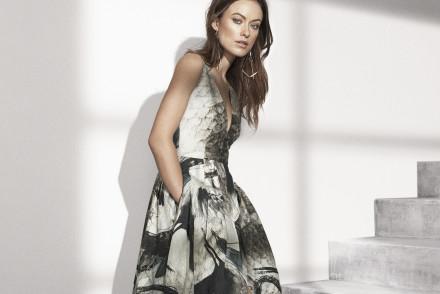 H&M Conscious Olivia Wilde mamzellebeaute.com