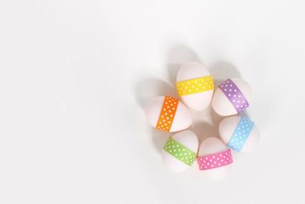 Joyeuses Pâques oeufs cocos mamzellebeaute.com