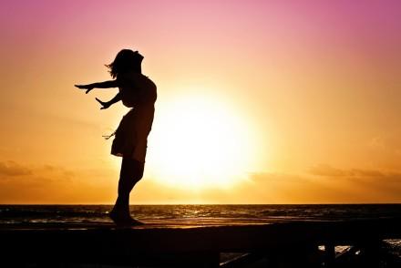 femme joie déprime mamzellebeauté